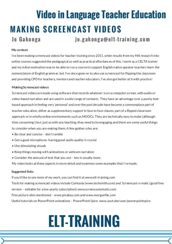 Making screencast videos - Jo Gakonga.pdf