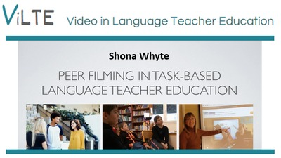 Part 2: Peer filming in the secondary EFL classroom in France