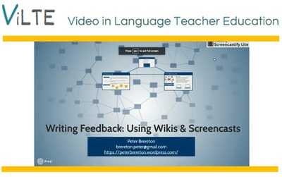 Using wikis & screencasts