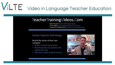 Using screen capture video to encourage reflection on lesson plans, lessons and observations