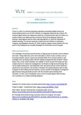 teaching via video conferencing - Cardoso.pdf